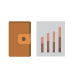 office personal and business icon set vector image