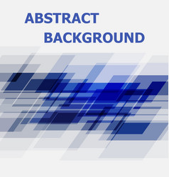 abstract blue geometric overlapping design vector image