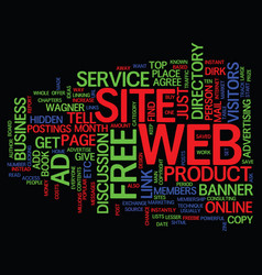 Lesser known online business ideas text vector