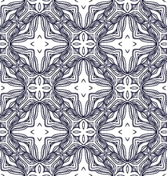 Ornamental background pattern design vector