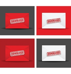 Download envelope set vector