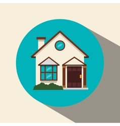 House and real estate design vector
