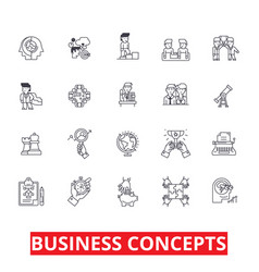 business metaphor meeting ideas conversations vector image