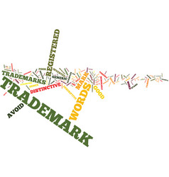 Effective trademarks how to select a good name vector