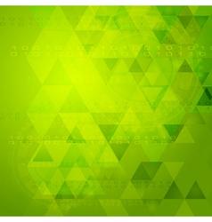 Green tech design vector