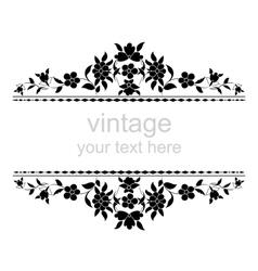 Ornate vintage frames five vector