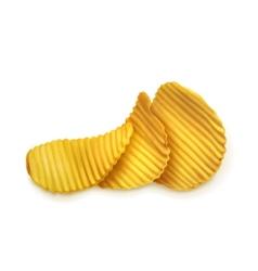 Potato chips vector image