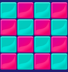 Blue and pink tiles texture seamless vector