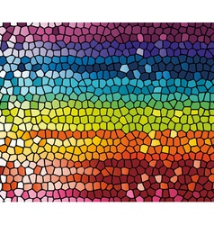 colorful rainbow template vector image
