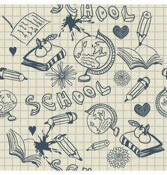 Education Doodle vector image vector image