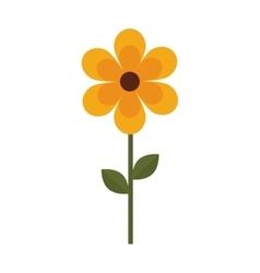 Flower love romantic emotions design vector
