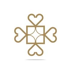 love symbol icon design vector image vector image