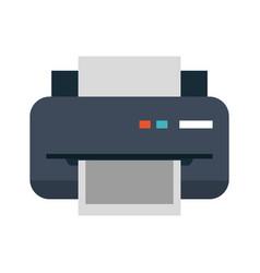 printer printing icon image vector image vector image