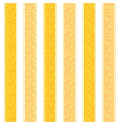 Yellow Line Pattern Background vector image vector image