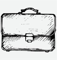 Business bag vector