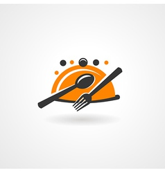 Food restaurant symbol icon vector