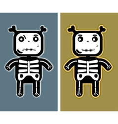funny child bones vector image