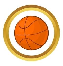 Basketball ball icon vector