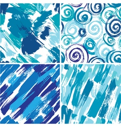 paint abstract 3 380 vector image vector image
