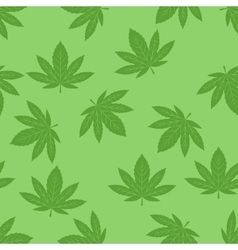Marijuana background set vector