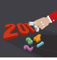 2017 greeting card design vector