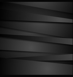 abstract corporate black stripes tech background vector image
