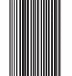barcode texture vector image vector image