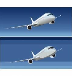 Boeing 787 dreamliner vector