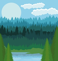 Landscape design vector