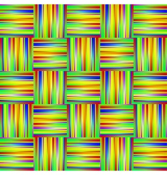 Seamless rainbow background with lines and stripes vector