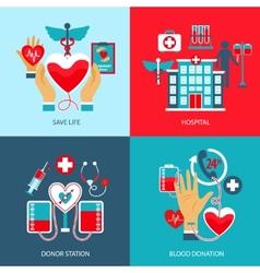 Donor concept set vector