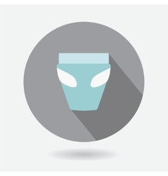 Logo baby diaper vector