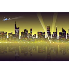Night Cityscape vector image