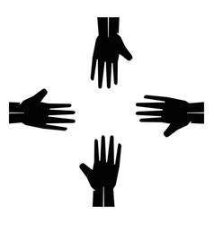 afro diversity symbol vector image