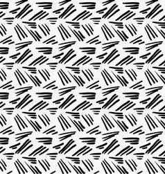 Black marker drawn simple uneven hatches vector
