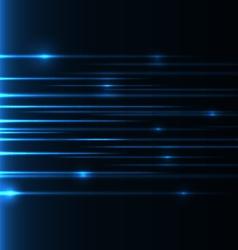 blue-speed-laser vector image vector image