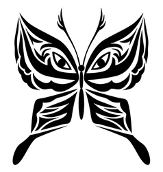 Tatoo butterfly vector
