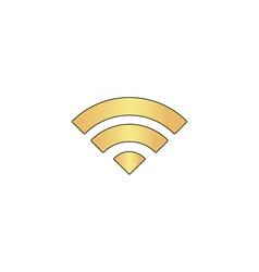 wifi computer symbol vector image vector image