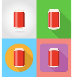 Fast food flat icons 05 vector