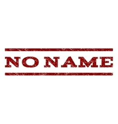 No name watermark stamp vector
