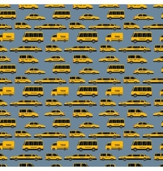 Yellow taxi vector