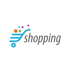 logo shop vector image