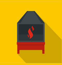 Blacksmith icon flat style vector
