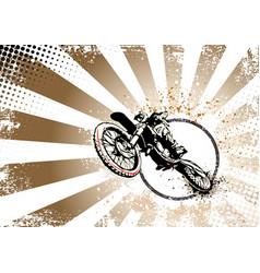 Motocross poster vector