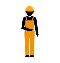 Builder construction worker vector