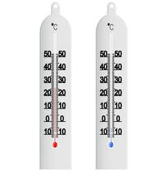 Centigrade thermometer vector