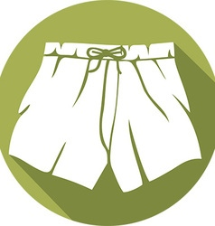 Boxer shorts icon vector