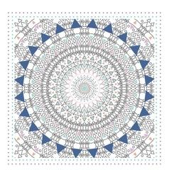 Geometric ornament design modern card vector