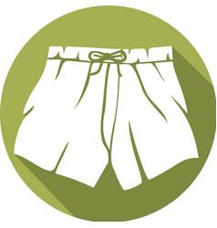 Boxer Shorts Icon vector image vector image