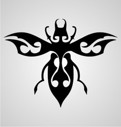 Bugs Tattoo Design vector image
